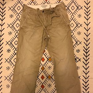 Abercrombie and Fitch Mens's khaki pants